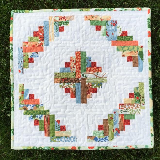 Barn-Raising Mini Quilt Tutorial