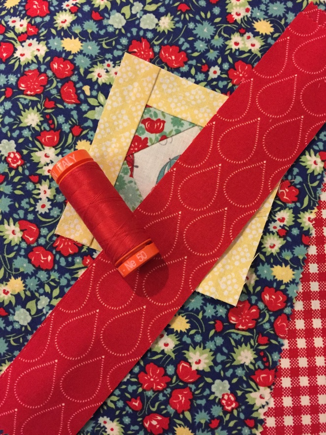 April Showers & Daysail Aurifil