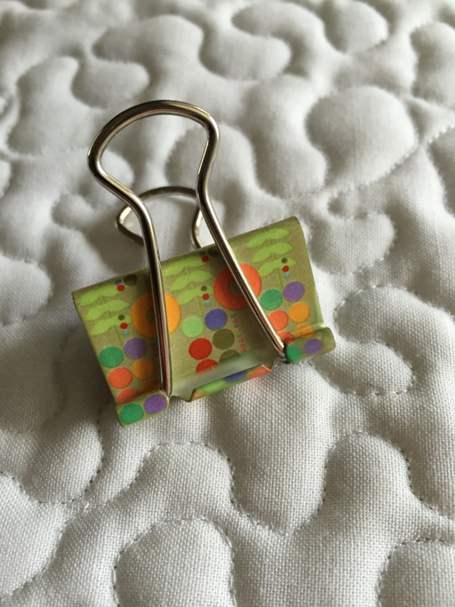 Binder Clips for Precut Bundle Storage