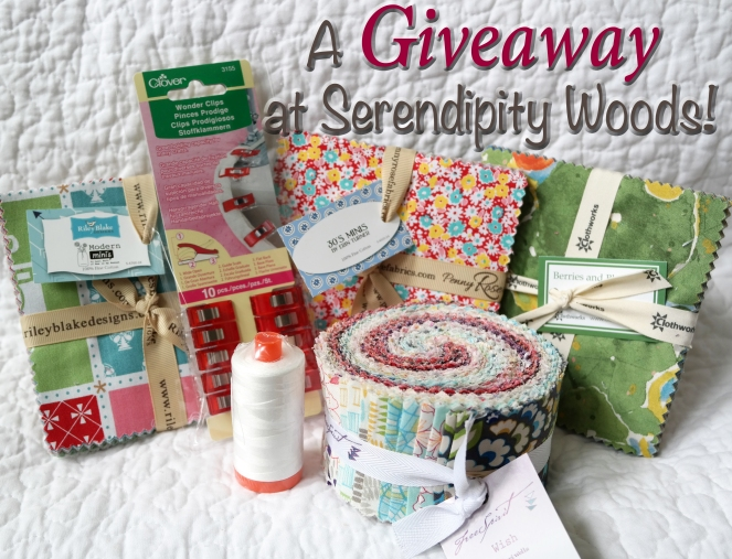A Giveaway at Serendipity Woods!