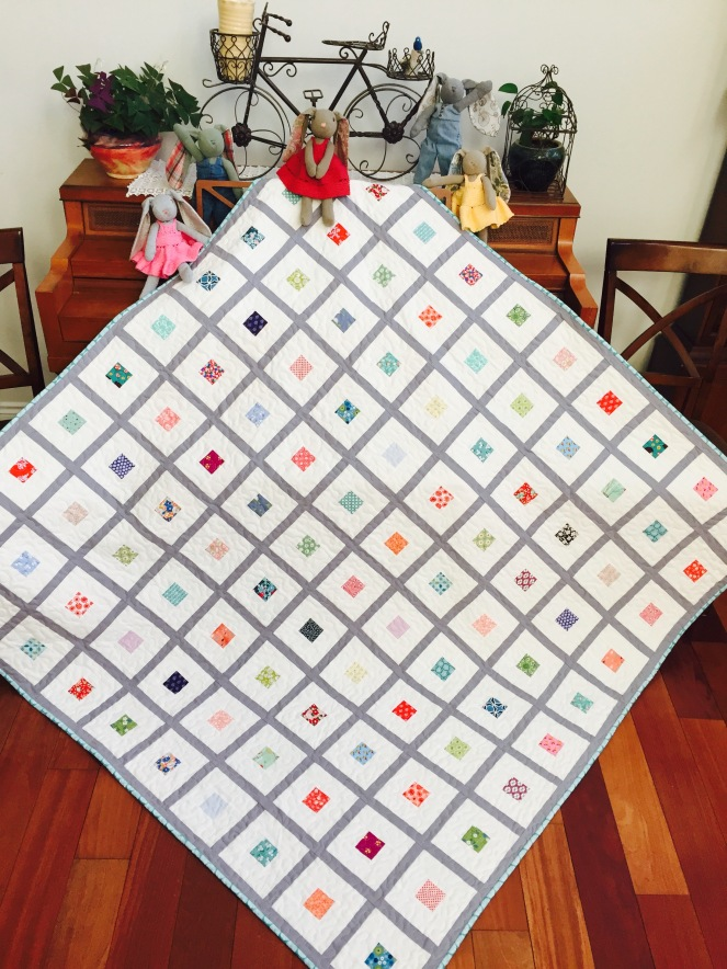 Scrappy Stack Quilt