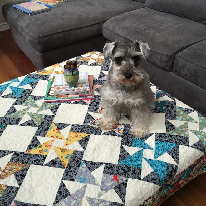 Emma and Sea Holly Quilt