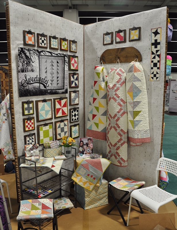 Sweetwater Booth Quilt Market